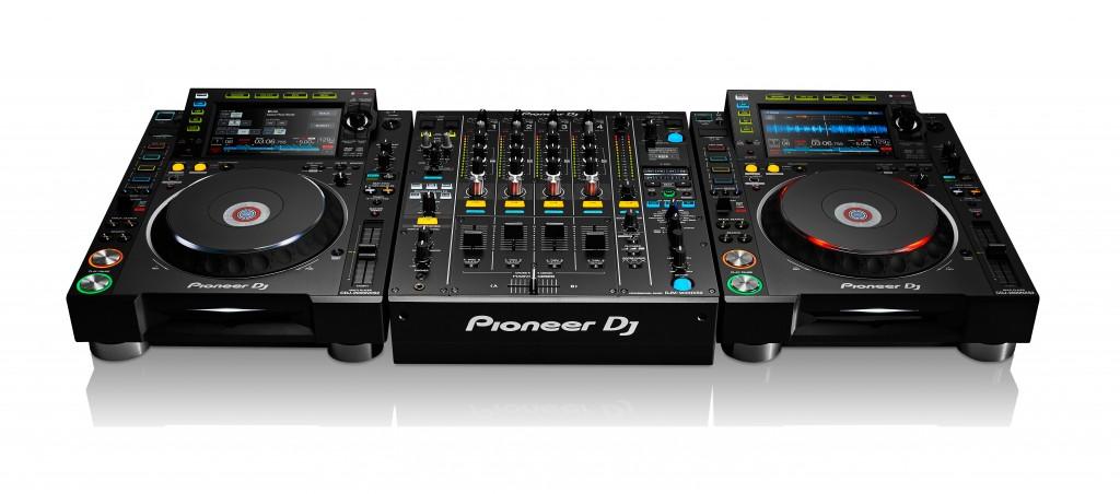pioneer dj CDJ-2000NXS2 DJM-900NXS2 CONFIGURATION